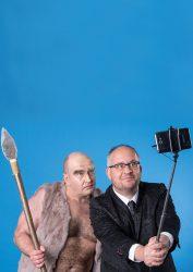 Musikkabarett Schwarze Grütze vom Neandertal ins Digital Pressefoto 2 hochkant Fotograf Stefan Hoyer