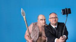 Musikkabarett Schwarze Grütze vom Neandertal ins Digital Pressefoto 2 queer Fotograf Stefan Hoyer